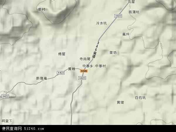 乡地图 中寨乡卫星地图 中寨乡高清航拍地图 中寨乡高清卫星地图 中图片