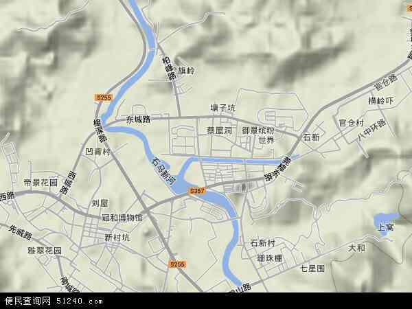 樟木头镇地图 - 樟木头镇卫星地图 - 樟木头镇高清