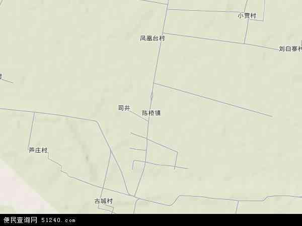 中国河南省新乡市封丘县陈桥镇地图(卫星地图)
