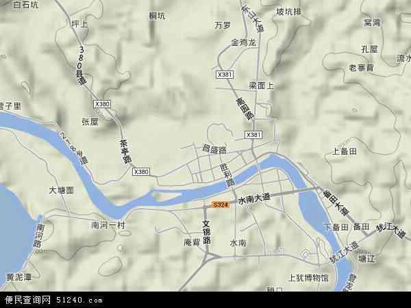 中国 江西省 赣州市 上犹县 东山镇  本站收录有:2017东山镇卫星地图