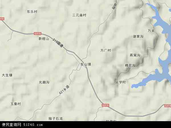 中国 四川省 资阳市 乐至县 东山镇  本站收录有:2017东山镇卫星地图