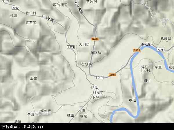 乡地图 浮江乡卫星地图 浮江乡高清航拍地图 浮江乡高清卫星地图 浮图片
