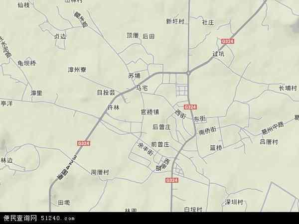 福建省 泉州市 南安市 官桥镇  本站收录有:2017官桥镇卫星地图高清版