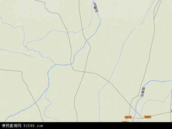 中国山东省聊城市茌平县洪官屯镇地图(卫星地图)
