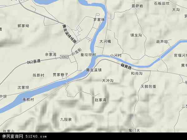 黄龙溪镇地图 - 黄龙溪镇卫星地图 - 黄龙溪镇高清