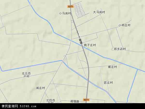 蒋辛屯镇地图 - 蒋辛屯镇卫星地图