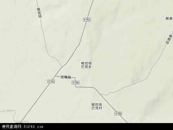 中国新疆维吾尔自治区塔城地区塔城市喀拉哈巴克乡
