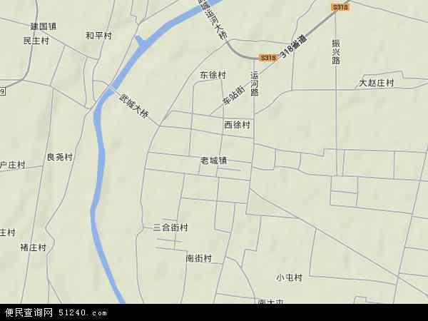 武城县地图全图高清版【相关词_ 武城县地图】