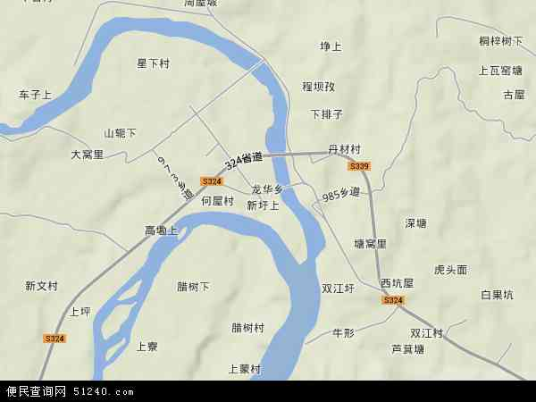 乡地图 龙华乡卫星地图 龙华乡高清航拍地图 龙华乡高清卫星地图 龙图片