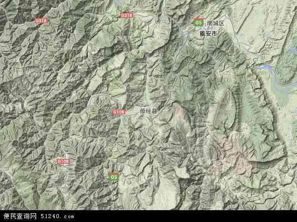 龙苍沟镇高清卫星地图 龙苍沟镇2018年卫星地图 中国四川省雅安市