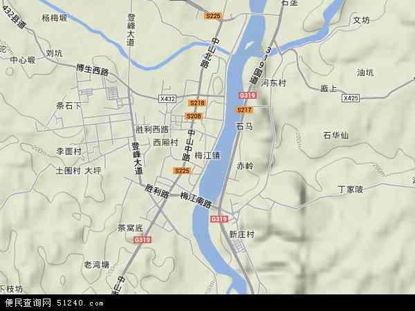 镇地图 梅江镇卫星地图 梅江镇高清航拍地图 梅江镇高清卫星地图 梅图片