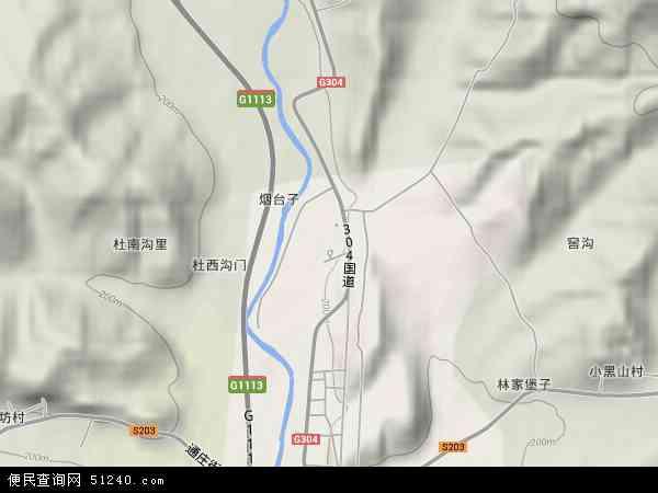中国辽宁省丹东市凤城市通远堡镇地图(卫星地图)