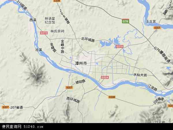 福建省漳州市芗城区五峰农场地图(卫星地图)