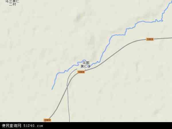 中国青海省海西蒙古族藏族自治州格尔木市乌图美仁乡