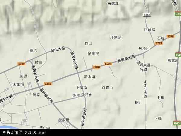新昌镇地图 - 新昌镇卫星地图 - 新昌镇高清航拍地图