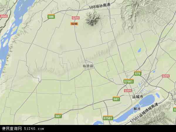 山西省运城市有多少个县区图片
