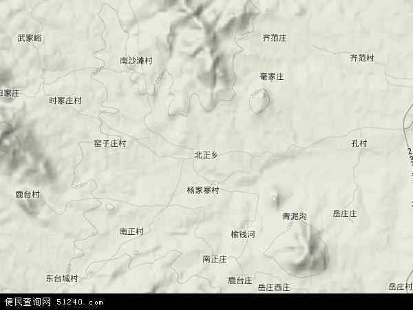 北正乡地图 - 北正乡卫星地图 - 北正乡高清航拍地图
