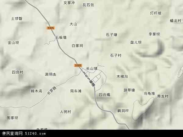 自贡市市区高清地图