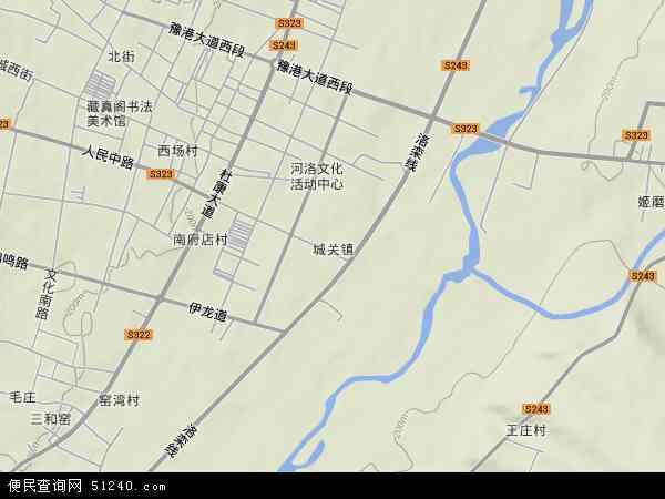 伊川县城区规划图2018