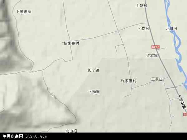 长宁镇高清卫星地图 长宁镇2017年卫星地图 中国青海省西宁市大通图片