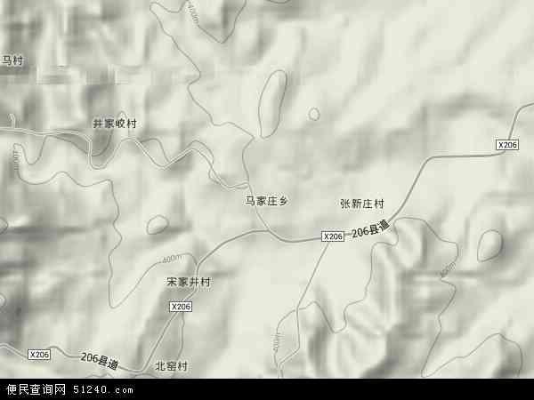 马家庄乡卫星影像,马家庄乡高清卫星航拍地图