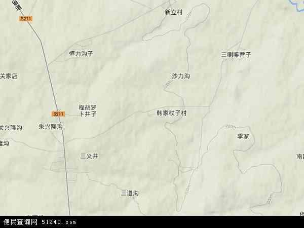 水泉乡地图 - 水泉乡卫星地图