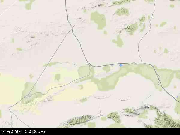 中国甘肃省酒泉市瓜州县双塔乡地图(卫星地图)