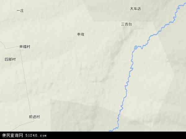 三吉台林场地图 - 三吉台林场卫星地图