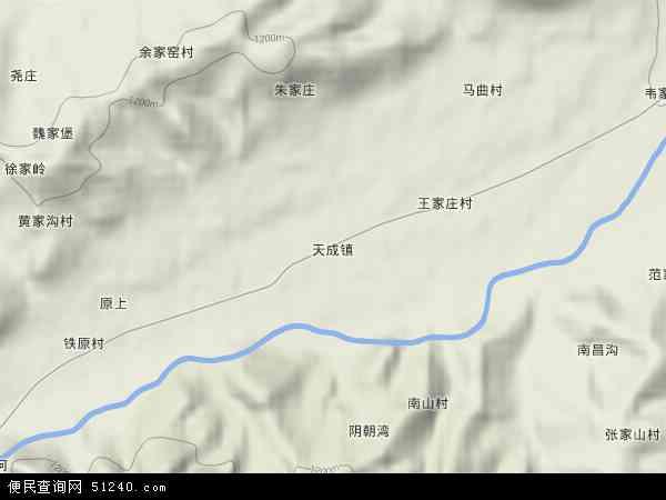 陕西省宝鸡市陇县地图 图片合集