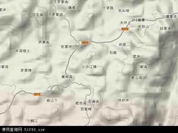 中国 湖南省 邵阳市 隆回县 小沙江镇  本站收录有:2018小沙江镇卫星