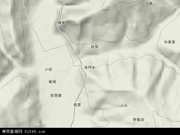 永坪乡地图 - 永坪乡卫星地图