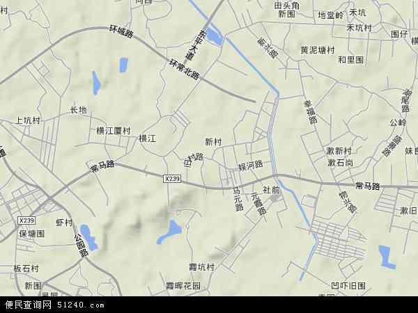 元江元村地图 - 元江元村卫星地图