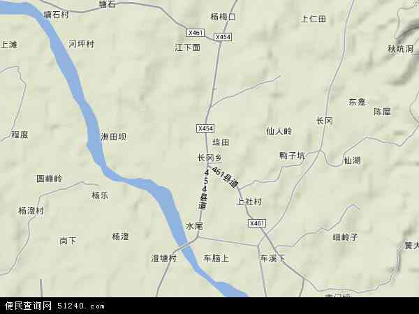 乡地图 长冈乡卫星地图 长冈乡高清航拍地图 长冈乡高清卫星地图 长图片