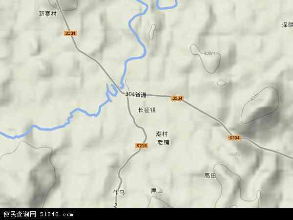 中国海南岛地图