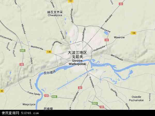 区戈茹夫卫星地图高清版