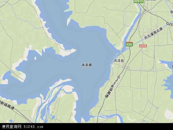 宿迁市 泗洪县 洪泽湖农场  本站收录有:2017洪泽湖农场卫星地图高清