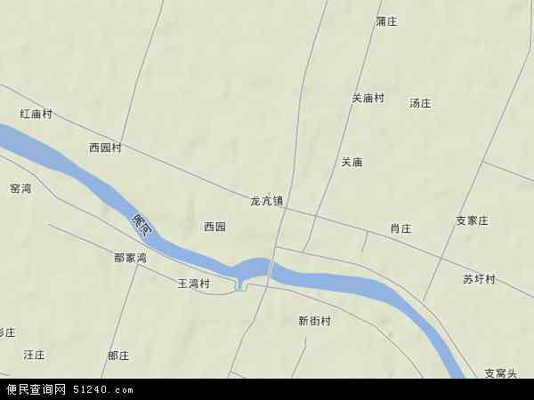 中国安徽省蚌埠市怀远县龙亢农场地图(卫星地图)