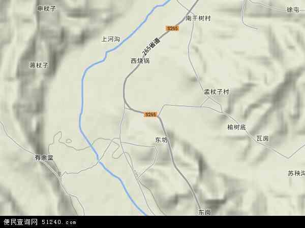 中国河北省秦皇岛市青龙满族自治县龙王庙乡地图