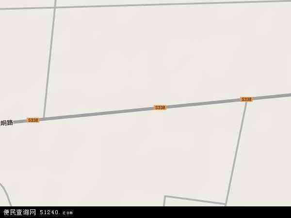 中国山东省菏泽市郓城县双桥镇地图(卫星地图)