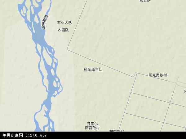 伊犁哈萨克自治州地图237线展示