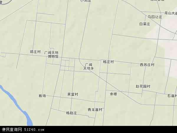 中国河南省平顶山市郏县广阔天地乡地图(卫星地图)