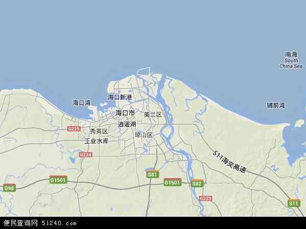 罗牛山农场地图 - 罗牛山农场卫星地图