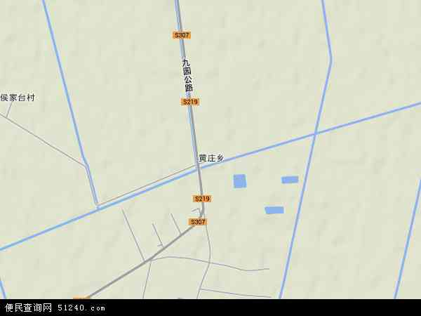 黄庄农场地图 - 黄庄农场卫星地图