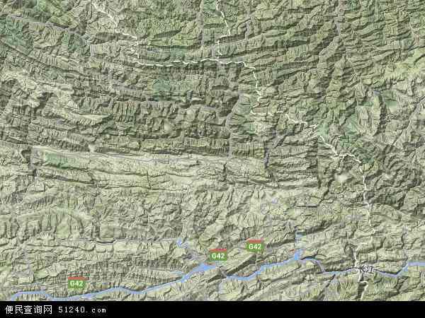 巫溪县 红池坝经济开发区  本站收录有:2016红池坝经济开发区卫星地图