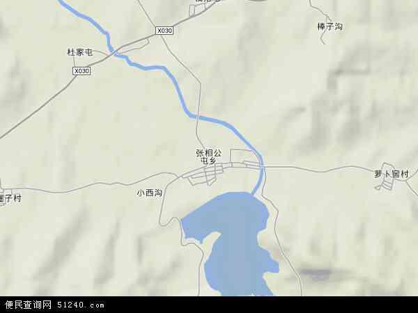 中国辽宁省葫芦岛市南票区张相公屯乡地图(卫星地图)