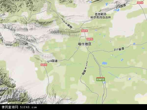 疏附广州工业城地图