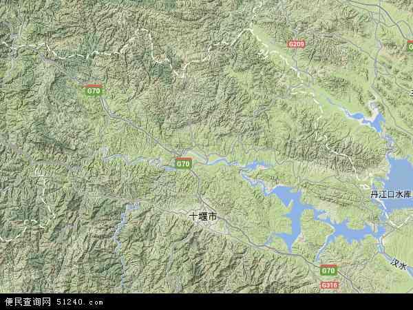 湖北省卫星地图 图片合集