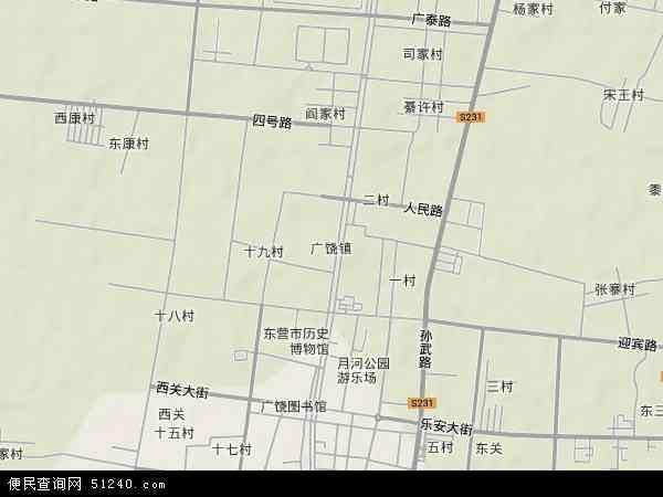 广饶滨海新区管理委员会地图图片