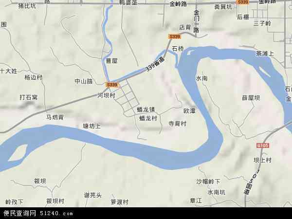 蟠龙镇(赣州经济技术开发区)地图 - 蟠龙镇(赣州