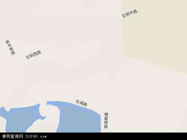 中国海南省海口市美兰区博爱地图(卫星地图)